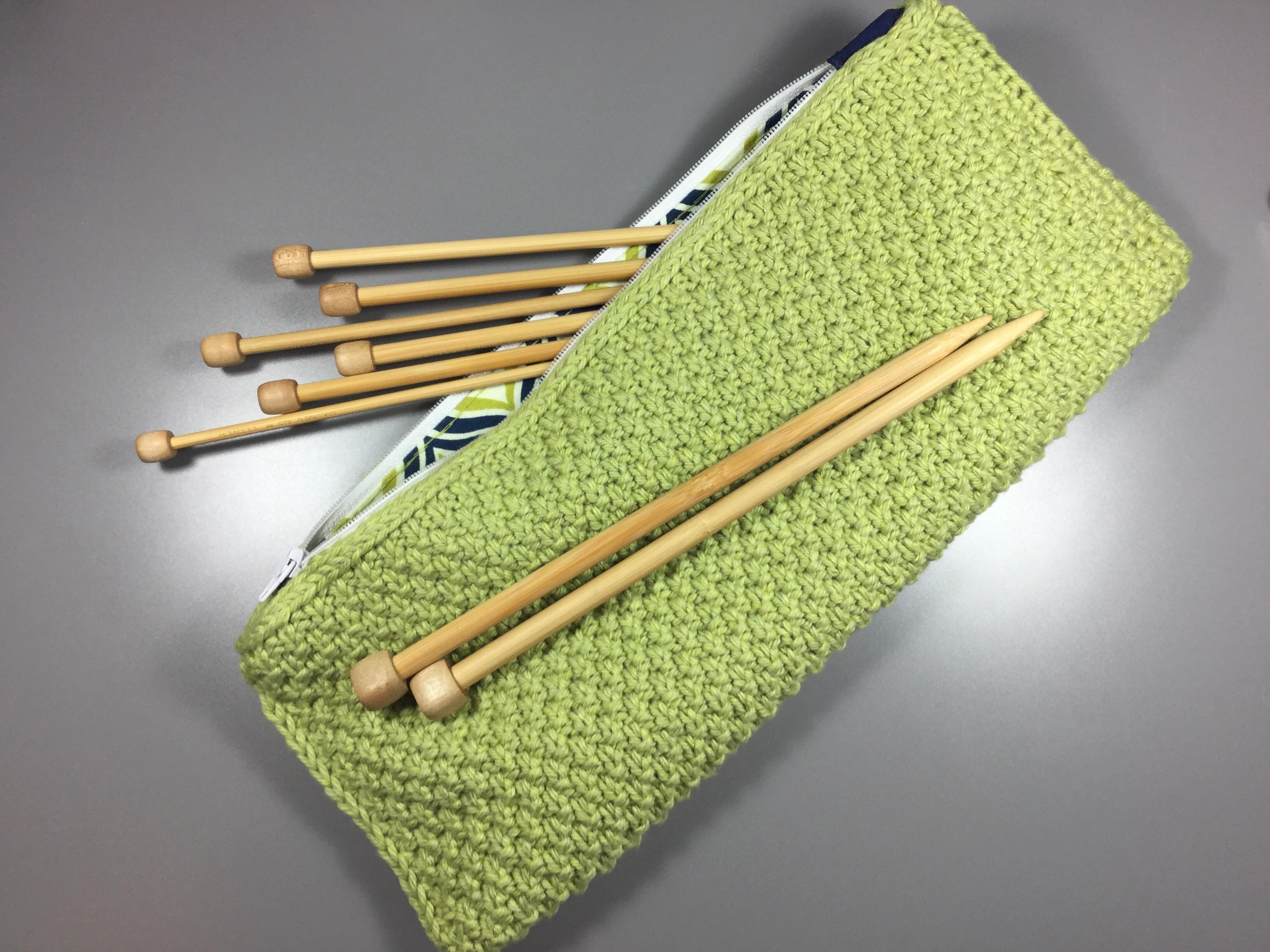 Knitting Zipper Tutorial : Knitting attached i cord tutorial